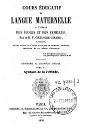 Cours éducatif de langue maternelle à l'usage des écoles et des familles: Volume3