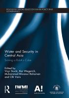 Water and Security in Central Asia PDF
