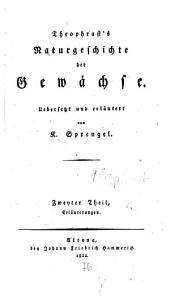 Naturgeschichte der Gewächse: Erläuterungen, Band 2