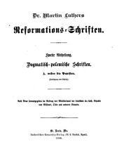 Dr. Martin Luthers Sämmtliche Schriften: Band 19