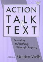 Action  Talk  and Text PDF