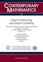 Graph Partitioning and Graph Clustering PDF