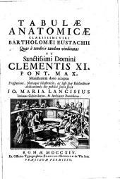 Tabulae anatomicae ... Bartholomaei Eustachii ...