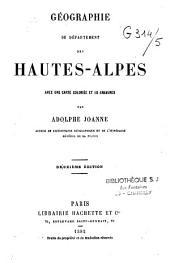 Géographie du département des Hautes-Alpes
