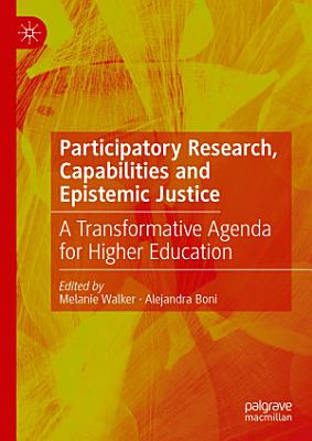 Participatory Research  Capabilities and Epistemic Justice