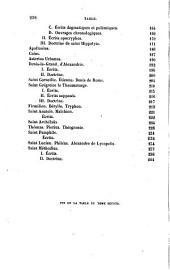 La Patrologie ou Histoire littéraire des trois premiers siècles de l'Eglise chrétienne: Oeuvre posthume...