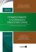 Coment  rios ao c  digo de processo civil    volume XVII  arts  824 a 875  PDF