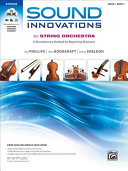 Download Sound Innovations for String Orchestra for Cello  Book 1 Book