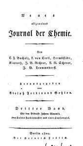 Neues allgemeines Journal der Chemie: Band 3