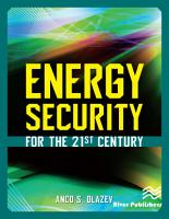Energy Security for the 21st Century PDF