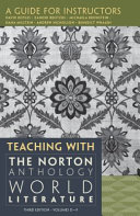 Teaching with the Norton Anthology of World Literature PDF