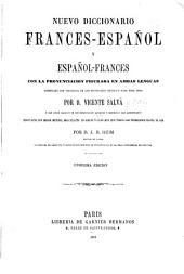 Nuevo diccionario frances-español-frances: con la pronunciacion figurada en ambas lenguas