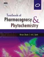 Textbook of Pharmacognosy and Phytochemistry   E Book PDF