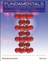 Fundamentals of Materials Science and Engineering  An Integrated Approach  5th Edition PDF