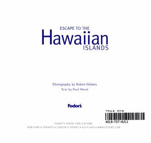 Escape to the Hawaiian Islands PDF