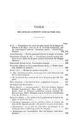 Revue de linguistique de philologie comparée ...: Volumes22à23