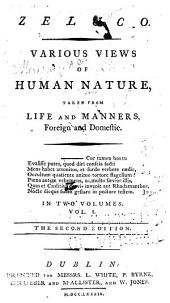 Zeluco: Various Views of Human Nature, Taken from Life and Manners, Foreign and Domestic, Volume 1
