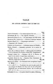 Revue de linguistique et de philologie comparée
