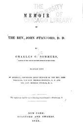 Memoir of the Rev. John Stanford: Part 4