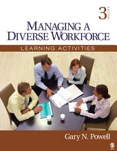 Managing a Diverse Workforce: Learning Activities, Edition 3