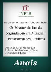 Anais do II Congresso Luso-Brasileiro do NELB