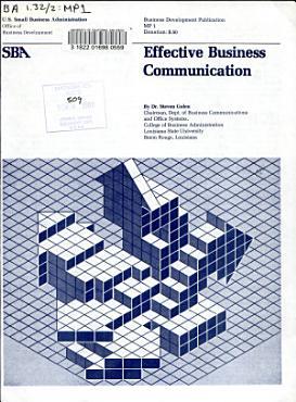 Effective Business Communication PDF