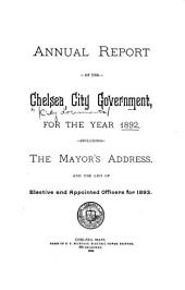 City Documents: Inaugural Address of ... Mayor, with the Annual Reports of the Officers of the City ...