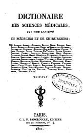 Dictionaire des sciences medicales: Volume 56
