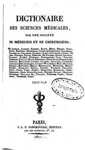 Dictionaire des sciences medicales: Volume56