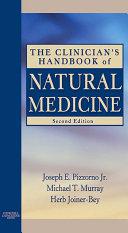 The Clinician's Handbook of Natural Medicine - E-Book