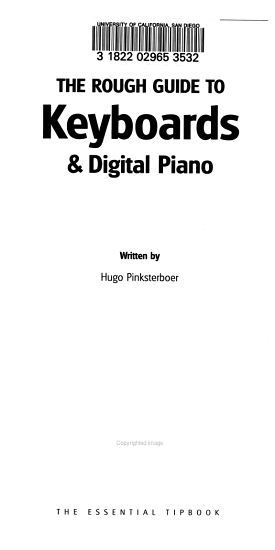 The Rough Guide to Keyboards   Digital Piano PDF