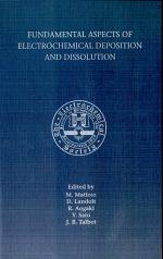 Fundamental Aspects of Electrochemical Deposition and Dissolution