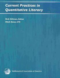 Current Practices In Quantitative Literacy