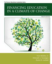 Financing Education in a Climate of Change: Edition 12