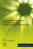 Carbon Nanomaterials for Agri food and Environmental Applications PDF