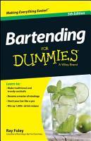 Bartending For Dummies PDF
