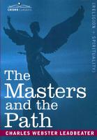 The Masters and the Path PDF