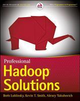 Professional Hadoop Solutions PDF