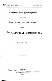 Annual Report of the Board of Railroad Commissioners: Part 35