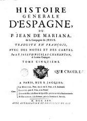 Histoire générale d'Espagne: Volume5