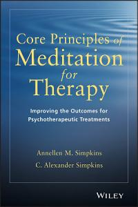 Core Principles of Meditation for Therapy Book