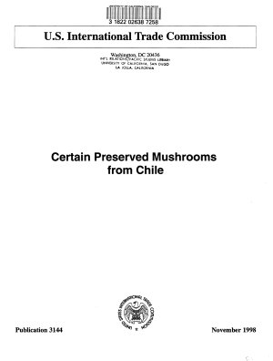 Certain Preserved Mushrooms from Chile PDF