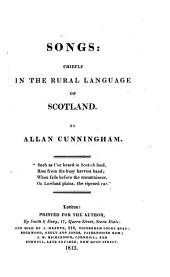 Songs: chiefly in the rural language of Scotland