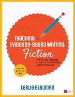 Teaching Evidence Based Writing  Fiction PDF
