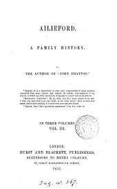 Ailieford, by the author of 'John Drayton'.