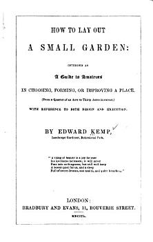 How to Lay Out a Small Garden PDF