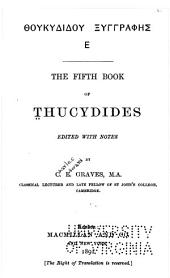 The fifth book of Thucydides