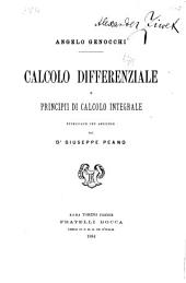 Calculo differenziale e principii di calculo integrale