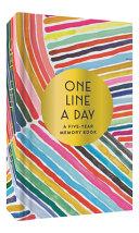 Rainbow One Line a Day Diary