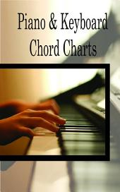 Piano & Keyboard Chords Charts: Piano Music Reference Book for Beginners